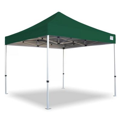Quikshade A10b Elite Aluminium 3x3m Green Canopy