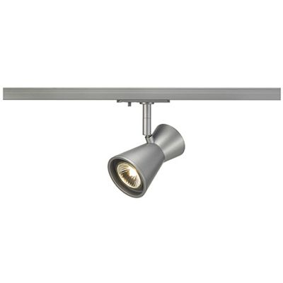 Diabo Spotlight Silvergrey Max. 35W Including 1 Circuit Adaptor