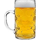 Rink Drink German Stein Beer Tankard / Glass / Mug - 2 Pints (40oz) - Gift Boxed