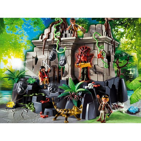 Playmobil - Treasure Temple with Guards 4842