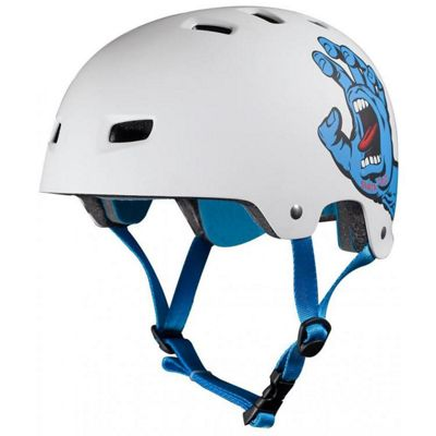 Bullet / Santa Cruz Colab Screaming Hand Graphic Helmet - White - S / M Adult - 54 - 57cm