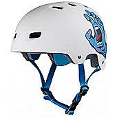 Bullet / Santa Cruz Colab Screaming Hand Graphic Helmet - White - S / M Adult - 54 - 57cm