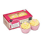 Patisserie de Bain Rhubarb & Custard Bath Tartlette Bath Bomb Duo