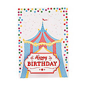 Circus Keepsake Birthday Card