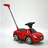 Kids Car Foot To Floor Mercedes Benz SLS Red