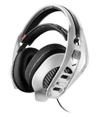 Plantronics RIG 4VR Binaural Head-band Black Silver headset
