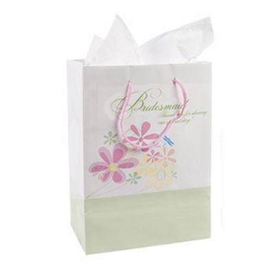 Floral Bridesmaid Gift Bag