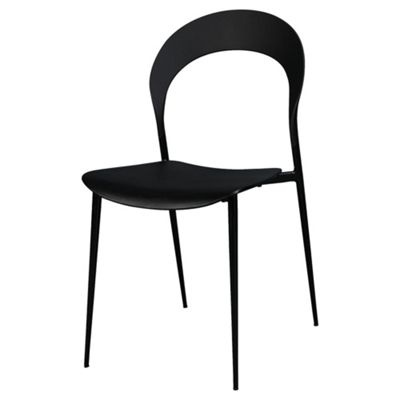 Exact 4 Pack Dining Chairs Black