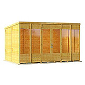 BillyOh Bella Tongue and Groove 12x8 T&G Pent Summerhouse