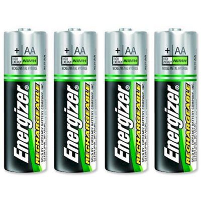 Energizer 2000 mAh Rechargeable AA Batteries - 4 Pack