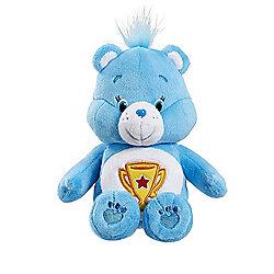 Care Bear 10cm Beanbag Soft Toy - Champion Bear