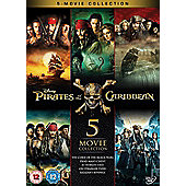 Pirates Of The Caribbean - Box set DVD