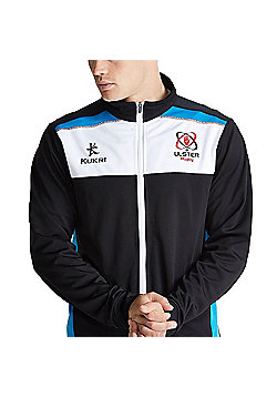 Kukri Ulster Rugby Retro Track Top - Black