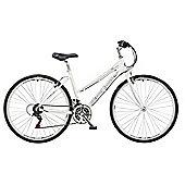 "Claud Butler Urban 100 White Urban Bike 20"" Frame"