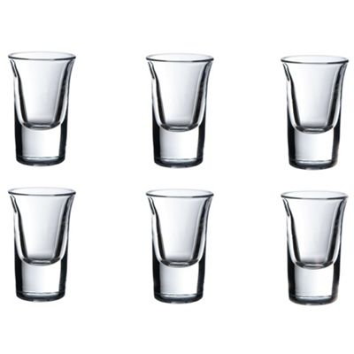 VonShef 6 Shot Liqueur Glasses 25ml