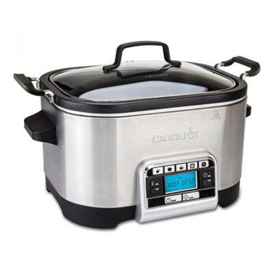 Crock Pot 5.6L Digital Multi Slow Cooker - Silver