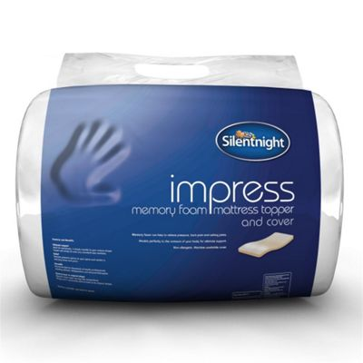 Silentnight Impress 5cm Memory Foam Mattress Topper - King
