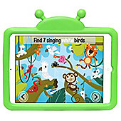 Kids Shock Proof Green Lucy Ladybird Case For The iPad Air 2 / 1