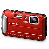 Panasonic DMC-FT30 Digital Camera Red
