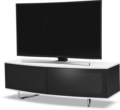 MDA Designs Caru TV Stand for up to 65 inch TVs - White