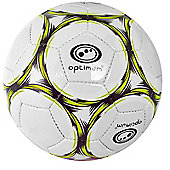 Optimum Classico Football - Black/Yellow - White