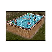 Zodiac Azteck Maxiwood Rectangular Wooden Pool 4m x 8.8m