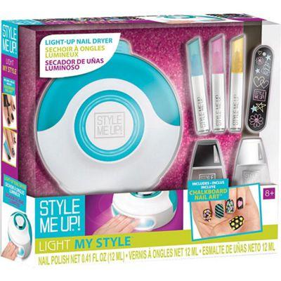 Buy Light My Stylea Blue Nail Dryer And Chalkboard Nail Art