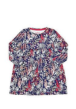 F&F Floral Print Smock Dress - Multi