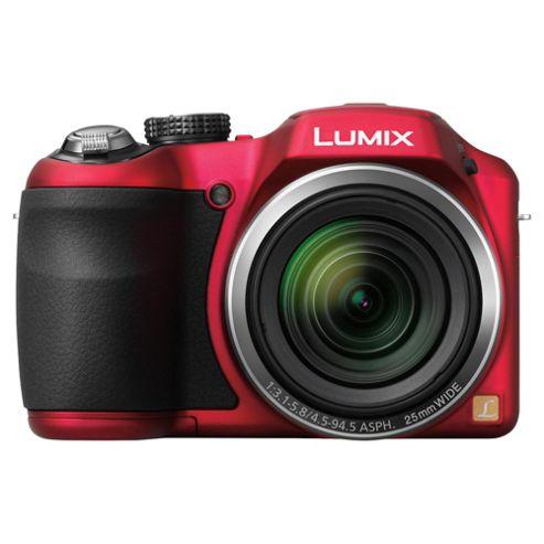Panasonic LZ20 bridge camera red