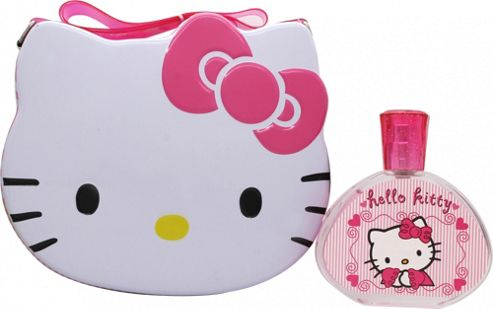 Hello Kitty Gift Set 100ml EDT + Metal Lunch Box For Women