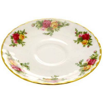 Royal Albert Old Country Roses Mocca Saucer 11.5cm (Saucer Only)