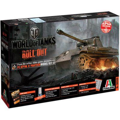 Italeri World Of Tanks Panther Ausf A Tank W36506 1:35 Model Kit