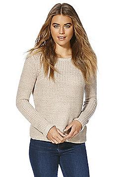 Vero Moda Chunky Knit Jumper - Beige