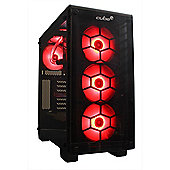 Cube Eclipse Watercooled Overclocked VR Upgrade Ready Gaming PC Core i7K Quad Core Add your own GPU Intel Core i7 Seagate 1Tb SSHD with 8Gb SSD Window