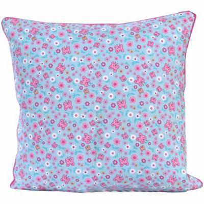 Homescapes Cotton Butterfly Cushion Cover, 60 x 60 cm