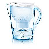BRITA Marella XL Water Filter Jug and Cartridge, White