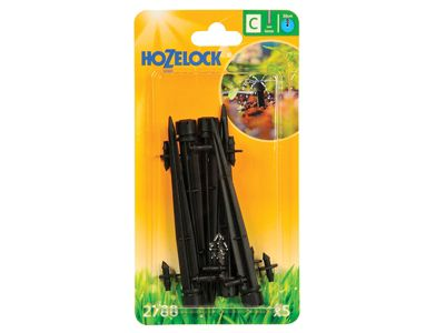 Hozelock Endline Adjustable Mini Sprinkler on Stake 4mm (5 Pack)