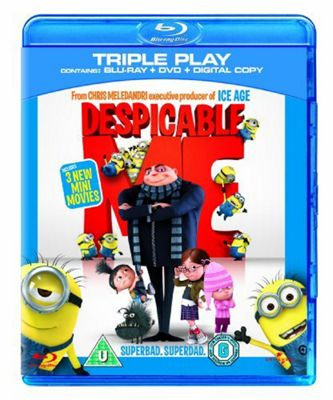 Despicable Me Double Play, Bluray