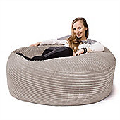 Lounge Pug® Mammoth Bean Bag Sofa - Cord Ivory