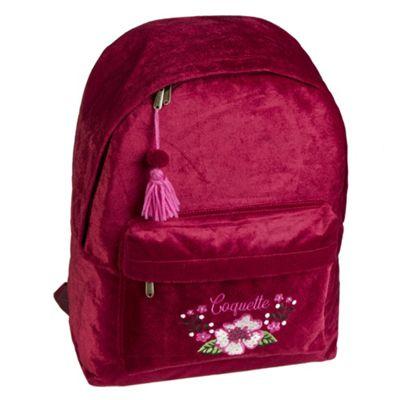 Girl's Backpack - Red Velvet