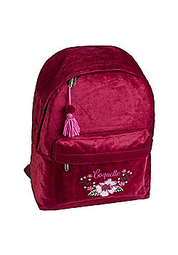 Girl's Backpack - Red Velvet