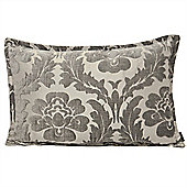 Riva Home Claremont Silver Cushion Cover - 40x60cm
