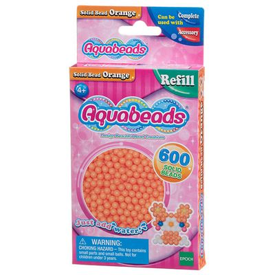 Epoch Aquabeads Solid Bead Pack Orange