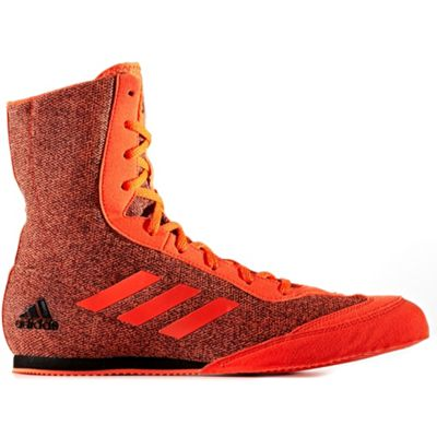 adidas Box Hog Plus Mens Boxing Trainer Shoe Boot Red - UK 7
