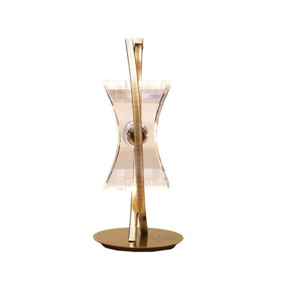 Kromo Table 1 Light Antique Brass