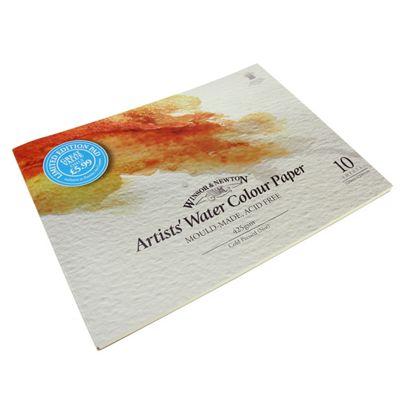 W&N - Artist Water Colour Pad 24 x 32cm 200lb