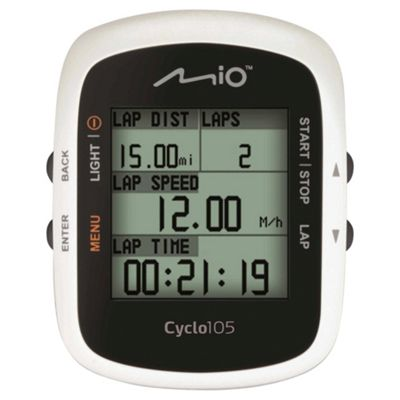 Mio Cyclo 105 Cyclist Navigation System, UK, 1.8