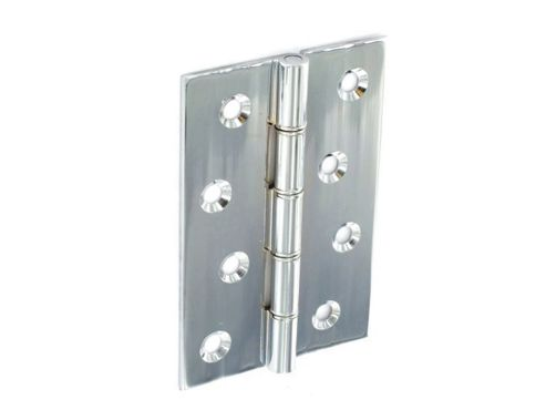 Securit S4151 Dbl Steel Hinges Cp 75mm X2