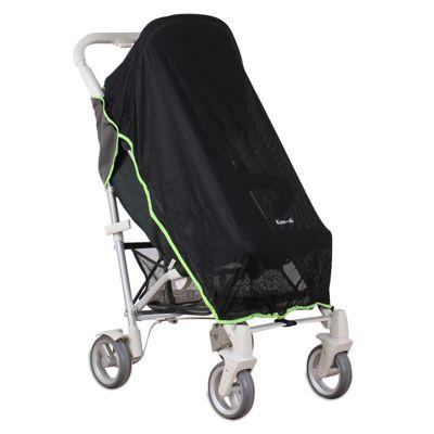Koo-di Pack-It Sun and Sleep Stroller Cover Black