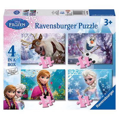 Ravensburger Disney Frozen 4 in a Box Puzzle